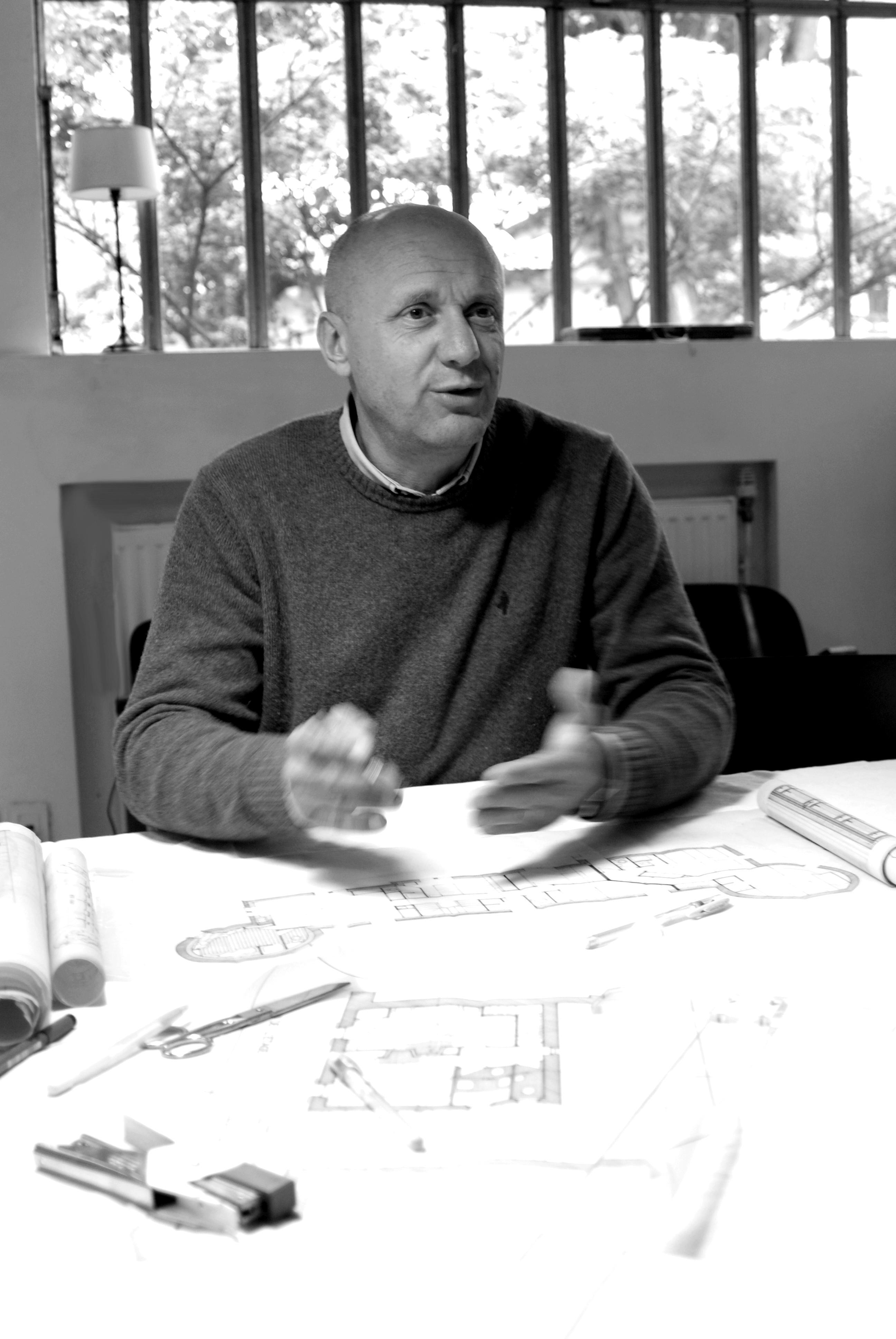 Denis Perrin, gérant de la société Corel Concept